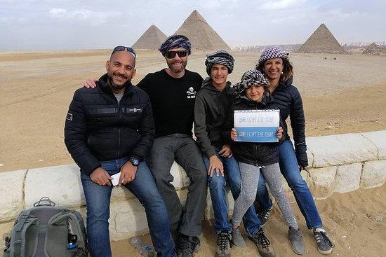 Museu egípcio de pirâmides-Khan El...