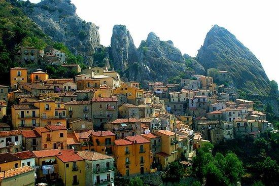 Visite à pied Pietrapertosa: villages...