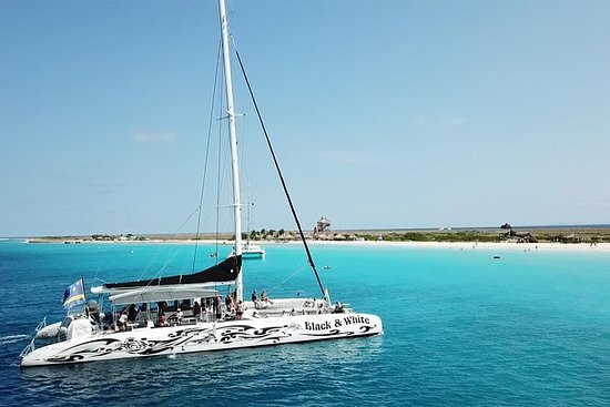 Klein Curacao with Sailing Catamaran...