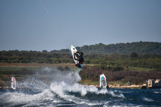 Liznjan, Croatia: Dare to try :) #windsurfing Ližnjan
