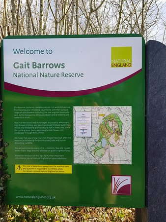 Gait Barrows National Nature Reserve