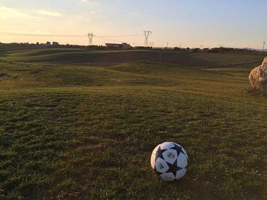 Fiumicino, Italia: footgolf