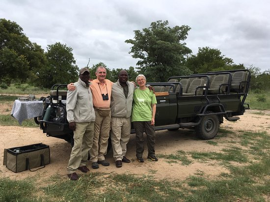 After last safari with ours ranger and guide
