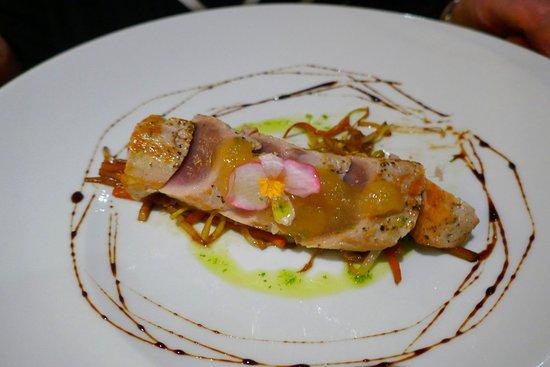 Alambique Restaurant - Saccharum: Tuna Tataki leider etwas fad