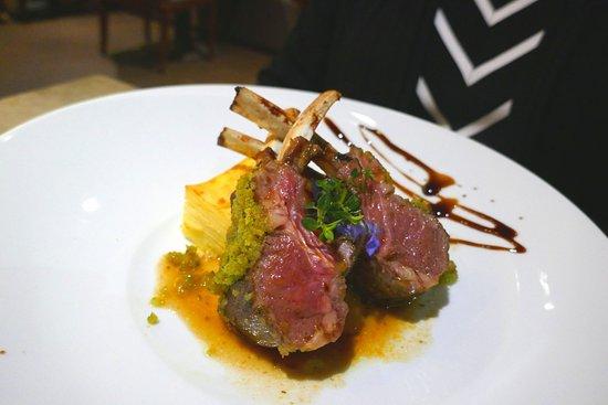 Alambique Restaurant - Saccharum: Ausgezeichnetes Lammkarree