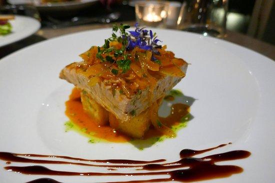 Alambique Restaurant - Saccharum: Ventresca vom Thunfisch mit Zwiebeln