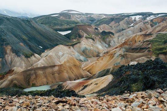The stunning landscape of Landmannalaugar, Iceland Credits: Jon Flobrant