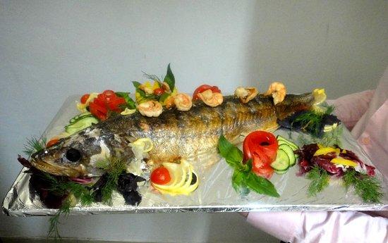 Рыба с грибами в духовке – рецепты Racionika.ru | 345x550