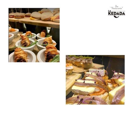 Pintxos y más pintxos en La Kedada Bilbao, el bar-restaurante del Hotel Ilunion Bilbao.