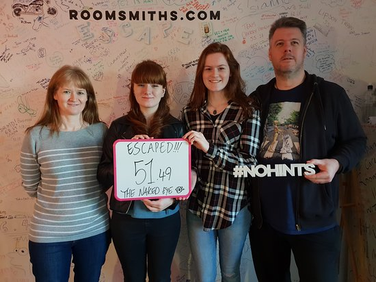 Dumb, Dumber and Dumberer - Picture of Roomsmiths Escape