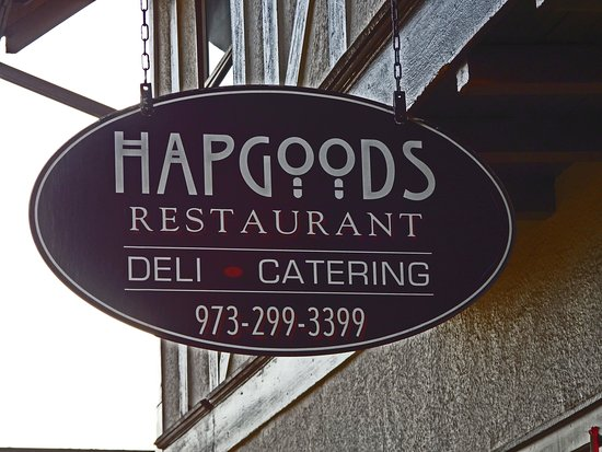 Mountain Lakes, NJ: Hapgood's Sign