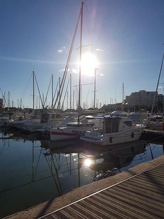 Soleil sur le port