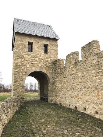 Detail der Kaiserpfalz - Turmzimmer wird für Hochzeiten genutzt