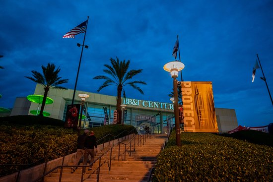 Sunrise, FL: BB&T Center is home to concerts and events.