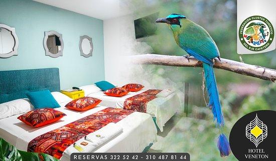 Dosquebradas, Κολομβία: Hotel Veneton 🏪 ✳Excelente ubicación cerca: ✔C.c el progreso🎁🎫 ✔Restaurantes🍽🍝 ✔Containers 🍔🍗🍹 ✔Facilidad de transporte 🚌🚕 ✔Cajeros 💳💰