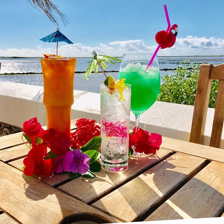 The THREE AMIGOS are waiting at Oceanaire Bistro to quench your thirst! Come and try one on for size. They are delicious and attractive.