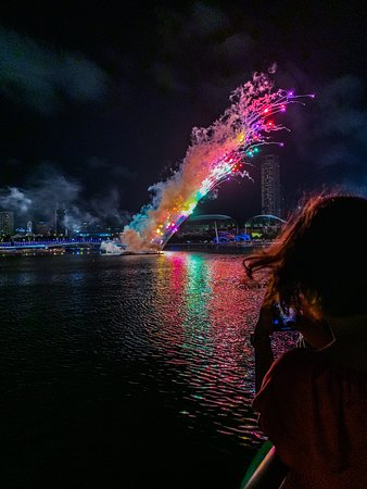 Photographing fireworks was one of the highlights of my night photography workshops during the Lunar New Year week.