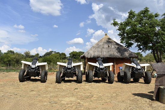 Victoria Falls Quad Biking Adventure - Village Discovery Tour