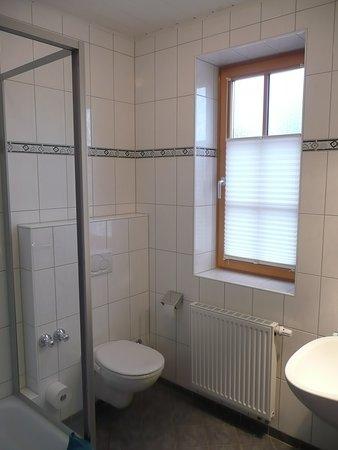 Pension Zur Muehle: Bad mit Dusche/ WC