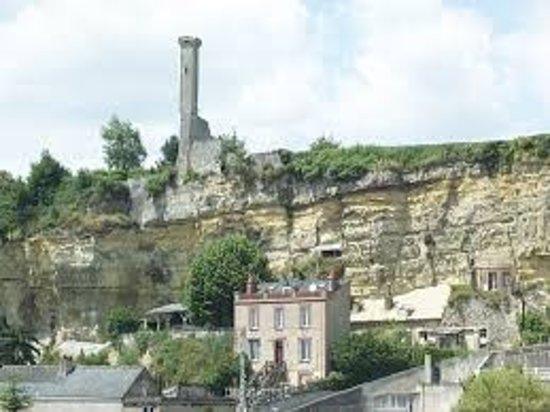 Rochecorbon, Frankrike: Tour