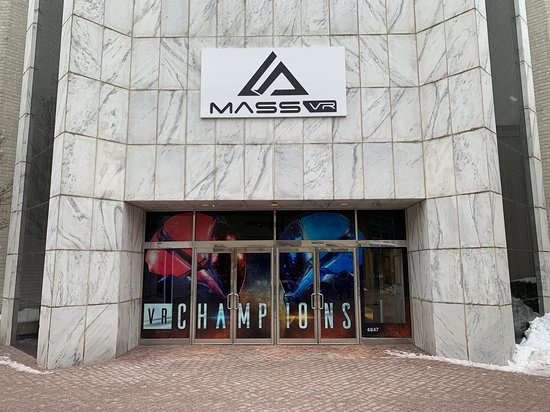 Skokie, IL: Entrance at Westfield Old Orchard - MassVR's VR Champions