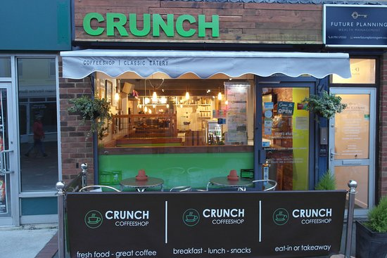 CRUNCH Coffeeshop and Classic Eatery, Swindon - Menu, Prices