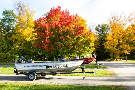 September is a special place at Bowen Lodge, when the walleye bite is strong and the colors are breathtaking.
