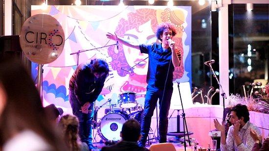 Comedy nights at Circo Terraza Salitre