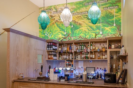 Relax in our born, but contemporary bar.  - Picture of Glenisla Hotel, Blairgowrie - Tripadvisor