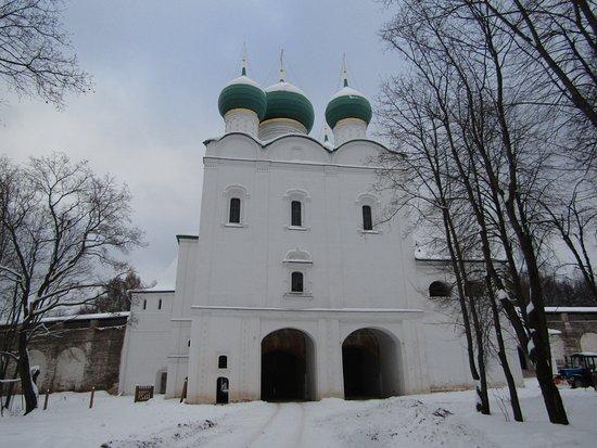 Borisoglebsky, Rosja: Надвратный храм преподобного Сергия