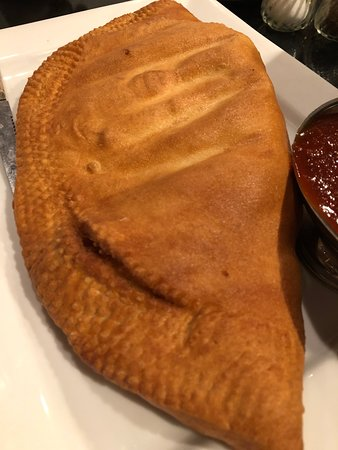 Deep Fried Calzone's the size of surf boards, and delicious!