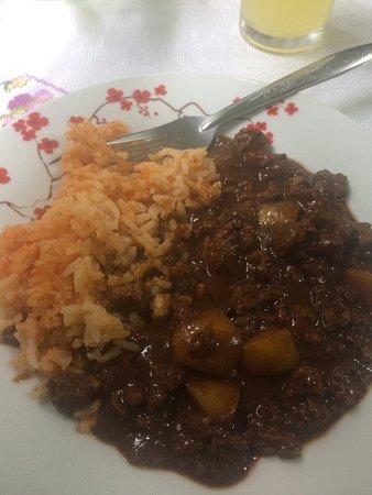 Comedor Clandestino Vegan Food: Manchamantel (platillo con soya)