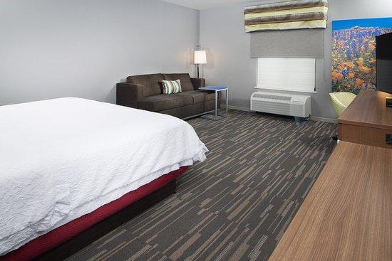 Hampton Inn Arvin Tejon Ranch: King Room with sofa sleeper