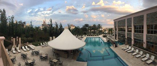 Amerian Hotel Casino Carlos V: Vista desde el entre piso