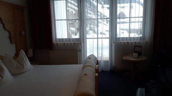 Hotel Garni Monte Bianco: das Zimmer mit Terrasse sehr schön egal ob wir die Ferienwohnung im Hotel oder ein Zimmer haben immer sauber und schön