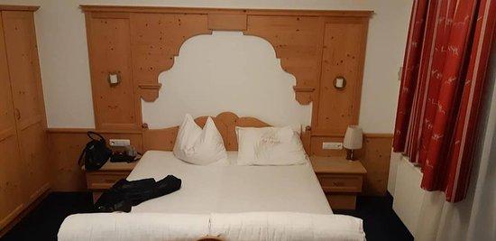 Hotel Garni Monte Bianco: einfach heimelige und ruhig und vor allem sauber