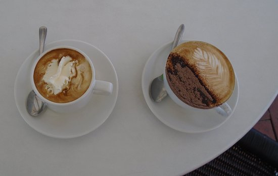 Vienna and Cappuccino