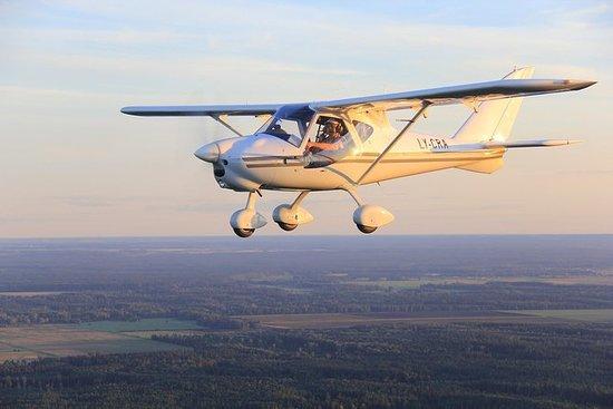 从私人飞机探索卢瓦尔城堡 - 成本分摊