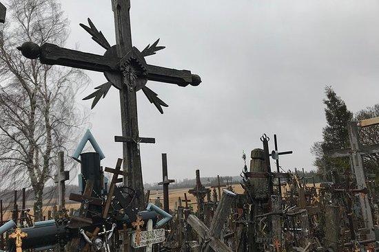 ビリニュスからプライベートクロスツアーの十字架へ