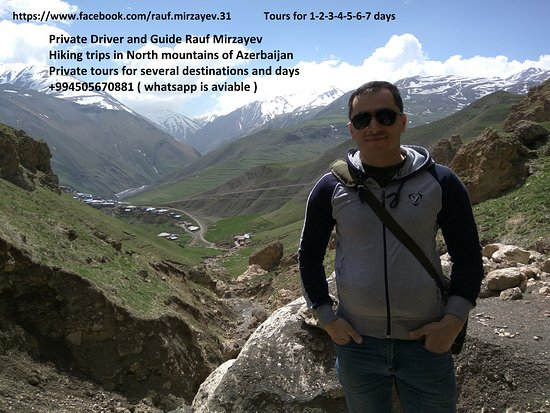 Khinalug, Azerbaijan: Azerbaijan Private driver and guide,Hiking Trips in Quba mountains