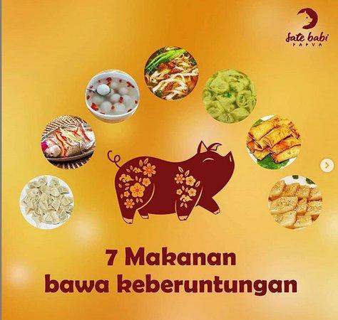 Tahukan Anda ada 7 Makanan Pembawa Keberuntungan yang dipercayai oleh Etnik Tionghoa dan makanan tersebut selalu disantap dihari Tahun Baru atau dimalam menjelang Tahun Baru?  Mau tahu Makanan apa saja? ini link-nya http://bit.ly/2ShC7bm