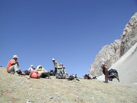 Ayni, طاجيكستان: Fann Mountain