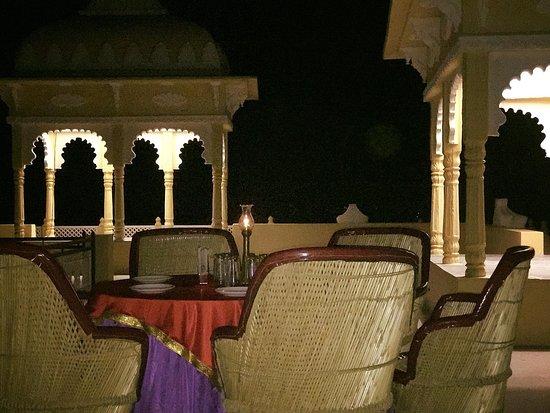 Deogarh Hills: An evening rooftop dinner