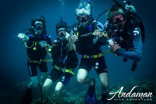 PADI Discover Scuba Diving (first time diving, min age 10, no license): Andaman Dive Adventure