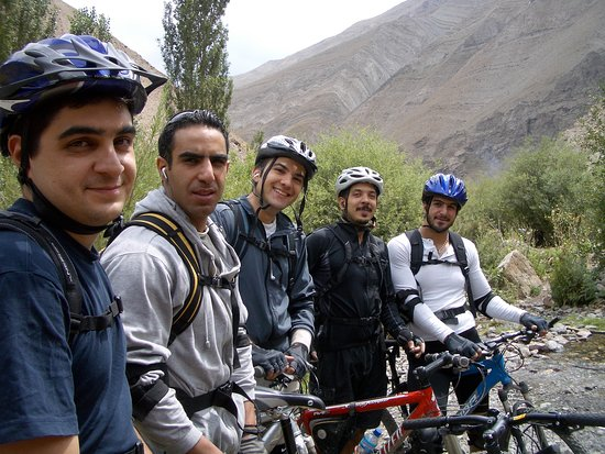 hiking and mount biking tour in Shemshak area , fantastic trail and scenery to ride and enjoy.