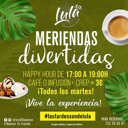 Lula 365: Disfruta de nuestras meriendas, creps, gofres, tortitas....