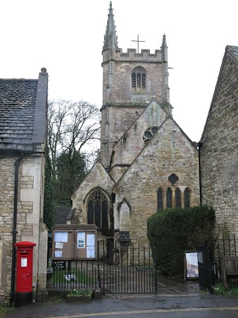 St. Andrew's Church: Entrance to the church...
