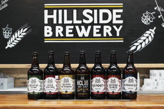 Longhope, UK: Our range of beers.