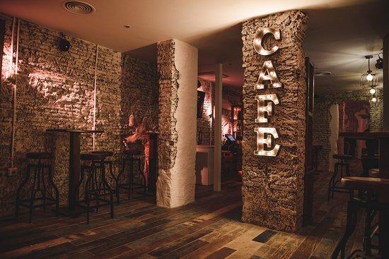 Malaga, Spain: Zona de bar para copas y cocktail.