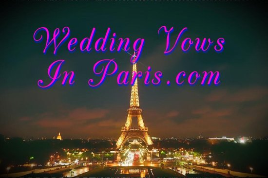 Wedding Vows in Paris.com